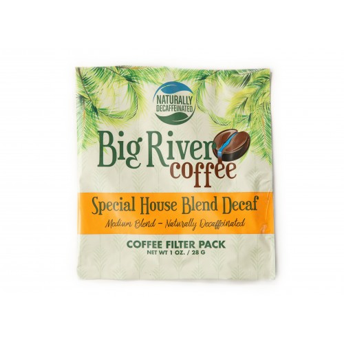 Special House Blend DECAF 4-Cup Filter Packs