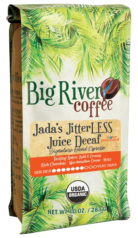 Jada's JitterLESS Juice Espresso Water Process DECAF