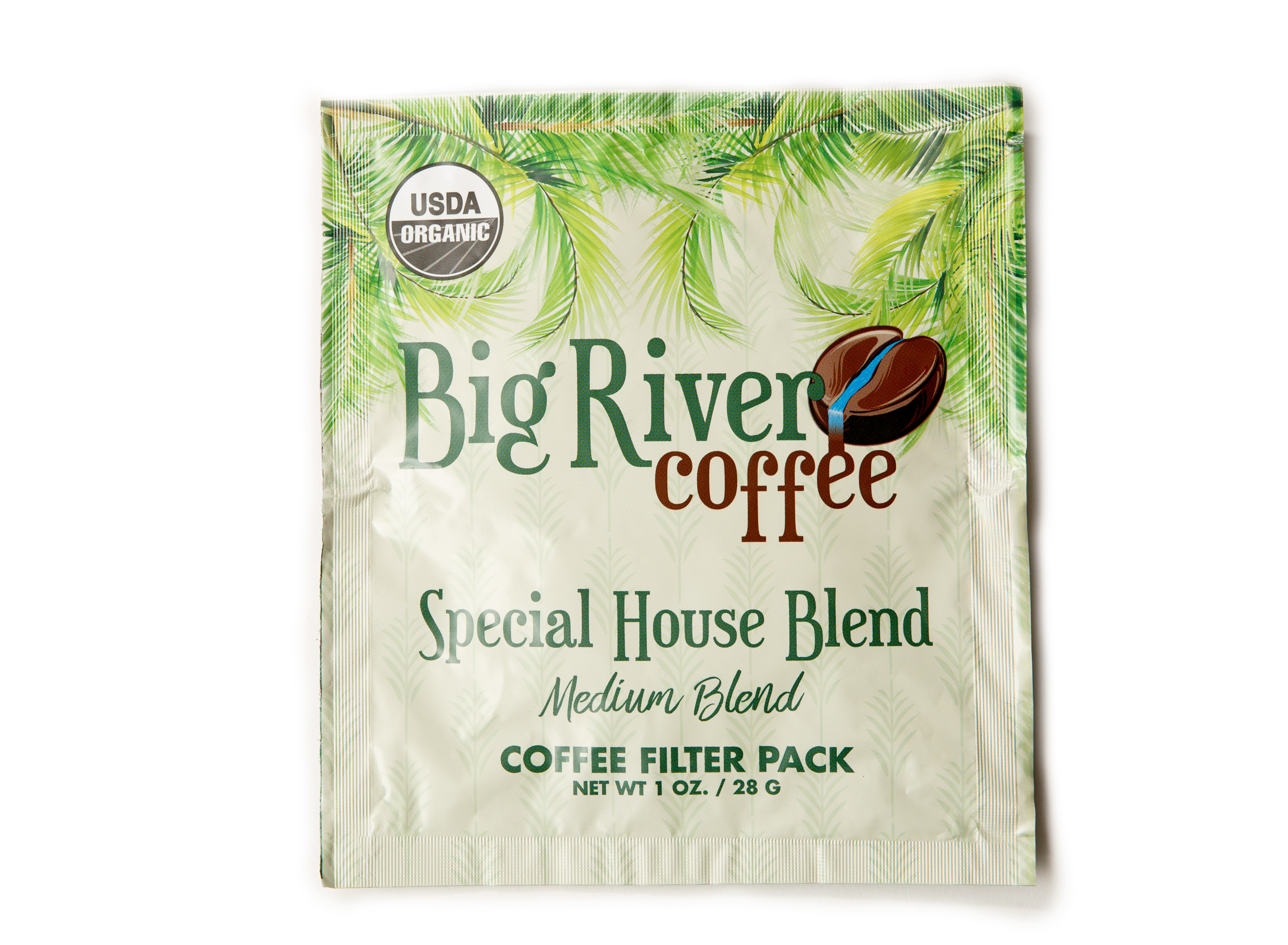 Special House Blend Organic 4-Cup Filter Packs
